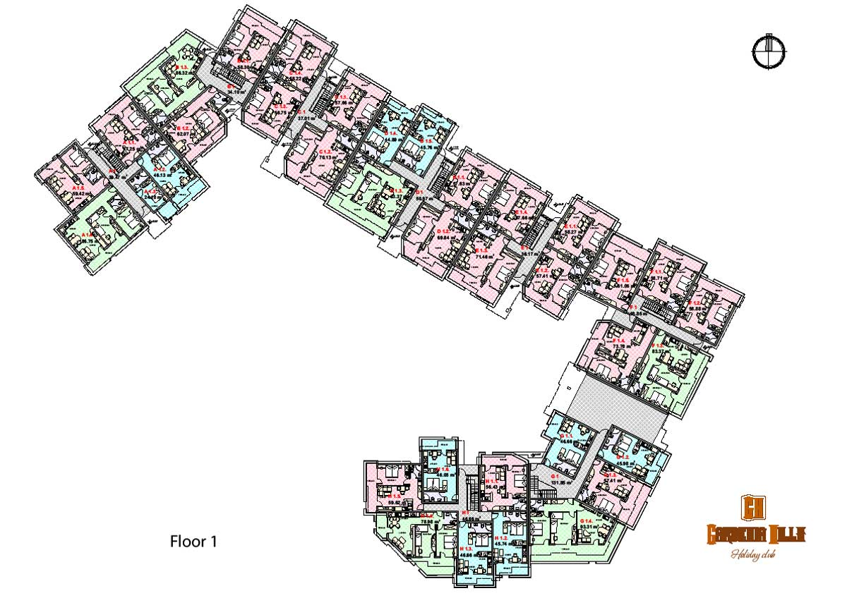 23 genius apartment block floor plans building plans for Apartment block plans